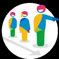 Spellen voor manager, leidinggevende, coördinator en projectmanager